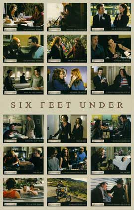 Six Feet Under - 11 x 17 TV Poster - Style K