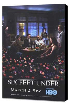 Six Feet Under - 11 x 17 TV Poster - Style A - Museum Wrapped Canvas