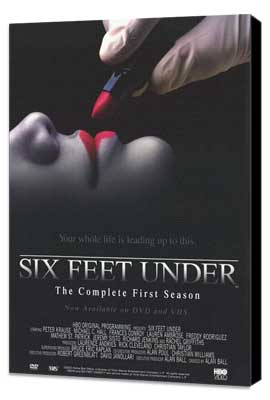 Six Feet Under - 11 x 17 TV Poster - Style C - Museum Wrapped Canvas