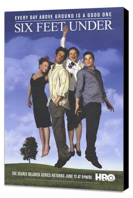 Six Feet Under - 27 x 40 TV Poster - Style B - Museum Wrapped Canvas