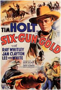 Six-Gun Gold - 43 x 62 Movie Poster - Bus Shelter Style A