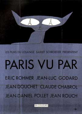Six in Paris - 11 x 17 Movie Poster - French Style A