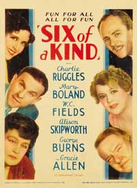 Six of a Kind - 27 x 40 Movie Poster - Style A