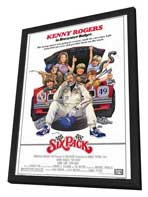 Six Pack - 27 x 40 Movie Poster - Style A - in Deluxe Wood Frame