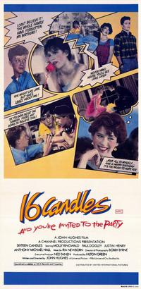 Sixteen Candles - 11 x 17 Movie Poster - Style B