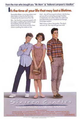 Sixteen Candles - 27 x 40 Movie Poster