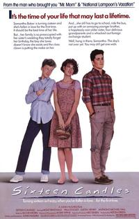 Sixteen Candles - 43 x 62 Movie Poster - Bus Shelter Style A
