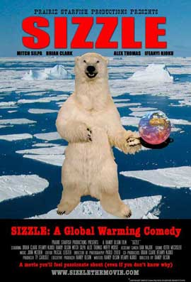 Sizzle: A Global Warming Comedy - 11 x 17 Movie Poster - Style A