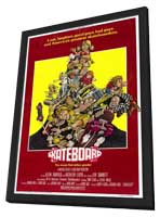 Skateboard - 11 x 17 Movie Poster - Style A - in Deluxe Wood Frame