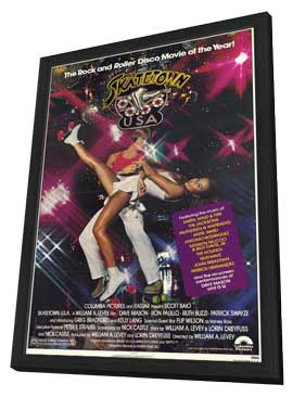 Skatetown, U.S.A. - 11 x 17 Movie Poster - Style A - in Deluxe Wood Frame