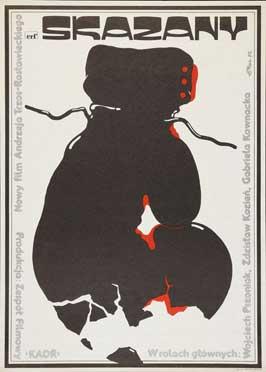 Skazany - 27 x 40 Movie Poster - Polish Style A