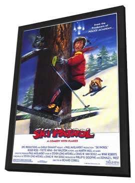 Ski Patrol - 11 x 17 Movie Poster - Style A - in Deluxe Wood Frame