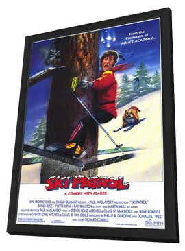 Ski Patrol - 27 x 40 Movie Poster - Style A - in Deluxe Wood Frame