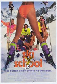 Ski School - 43 x 62 Movie Poster - Bus Shelter Style A