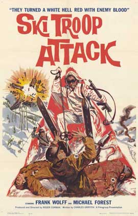 Ski Troop Attack - 11 x 17 Movie Poster - Style A