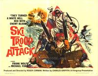 Ski Troop Attack - 22 x 28 Movie Poster - Half Sheet Style A