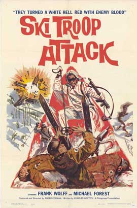Ski Troop Attack - 27 x 40 Movie Poster - Style A