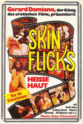 Skin-Flicks - 11 x 17 Movie Poster - German Style A