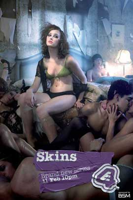 Skins (TV) - 11 x 17 TV Poster - UK Style J