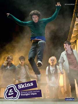 Skins (TV) - 11 x 17 TV Poster - UK Style O