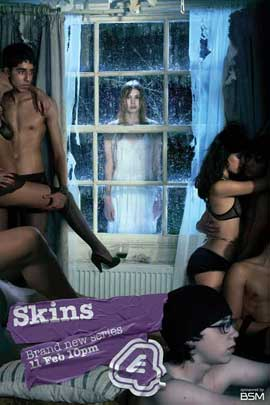Skins (TV) - 11 x 17 TV Poster - UK Style N