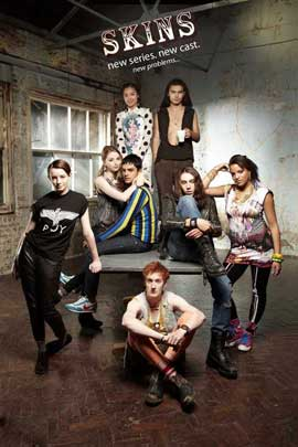Skins (TV) - 11 x 17 TV Poster - UK Style P