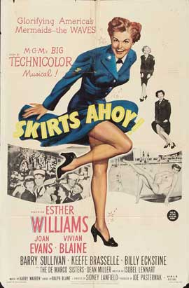 Skirts Ahoy - 11 x 17 Movie Poster - Style B