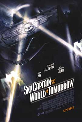 Sky Captain and the World of Tomorrow - 11 x 17 Movie Poster - Style D