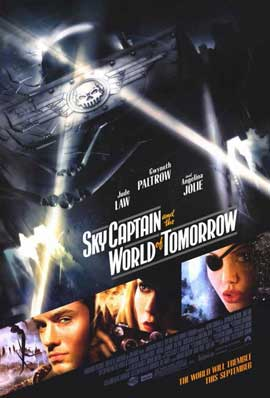 Sky Captain and the World of Tomorrow - 11 x 17 Movie Poster - Style E