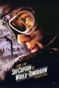Sky Captain and the World of Tomorrow - 27 x 40 Movie Poster - Style B