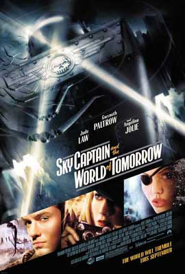 Sky Captain and the World of Tomorrow - 27 x 40 Movie Poster - Style C