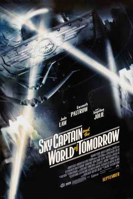 Sky Captain and the World of Tomorrow - 27 x 40 Movie Poster - Style D