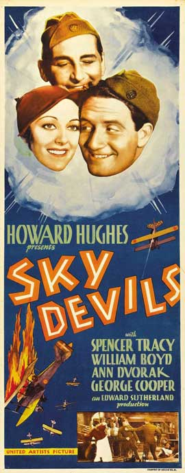 Sky Devils - 14 x 36 Movie Poster - Insert Style A