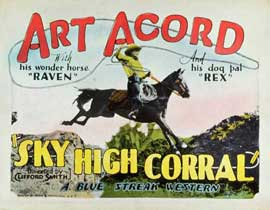 Sky High Corral - 11 x 14 Movie Poster - Style A