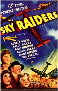 Sky Raiders - 11 x 17 Movie Poster - Style A