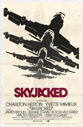 Skyjacked - 11 x 17 Movie Poster - Style B