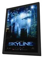 Skyline - 27 x 40 Movie Poster - Canadian Style A - in Deluxe Wood Frame