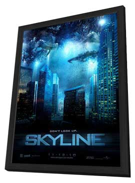 Skyline - 11 x 17 Movie Poster - Style A - in Deluxe Wood Frame