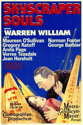 Skyscraper Souls - 11 x 17 Movie Poster - Style A
