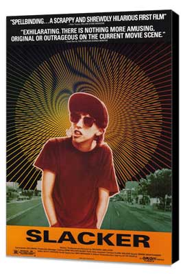 Slacker - 27 x 40 Movie Poster - Style A - Museum Wrapped Canvas