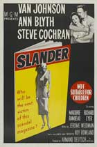 Slander - 11 x 17 Movie Poster - Australian Style A