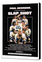 Slap Shot - 11 x 17 Movie Poster - Style A - Museum Wrapped Canvas