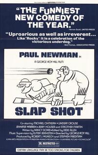 Slap Shot - 11 x 17 Movie Poster - Style B
