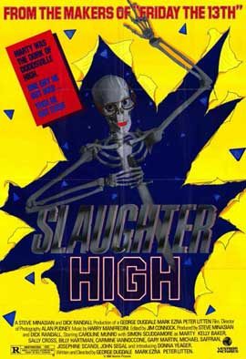 Slaughter High - 11 x 17 Movie Poster - Style A