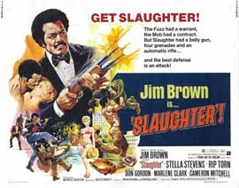 Slaughter - 22 x 28 Movie Poster - Half Sheet Style A