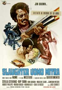 Slaughter - 27 x 40 Movie Poster - Italian Style A
