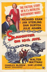 Slaughter On 10th Ave - 27 x 40 Movie Poster - Style A