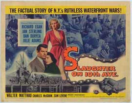 Slaughter on Tenth Avenue - 11 x 17 Movie Poster - Style A
