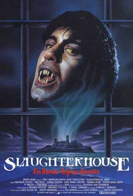 Slaughterhouse Rock - 11 x 17 Movie Poster - German Style A