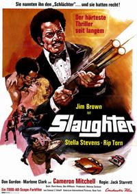 Slaughter's Big Ripoff - 11 x 17 Movie Poster - German Style B